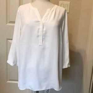 Talbots Woman ivory blouse Sz 1X